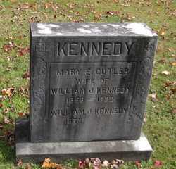 Mary E <i>Cutler</i> Kennedy
