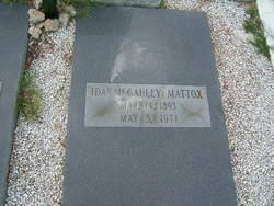 Ida <i>McGauley</i> Mattox