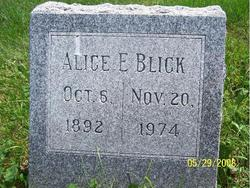 Alice E. <i>Brown</i> Blick
