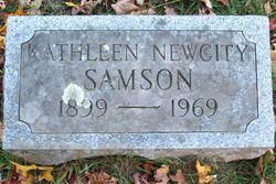 Kathleen Winifred <i>Newcity</i> Samson