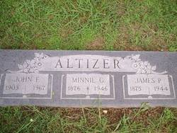 Minnie Gordon <i>Winslow</i> Altizer