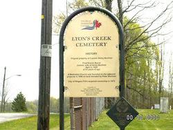 Lyon's Creek Cemetery