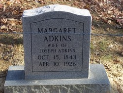 Margaret <i>Adkins</i> Adkins