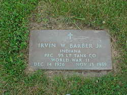 Irvin William Barber, Jr
