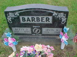 Betty Jane <i>Rodgers/Crawley</i> Barber