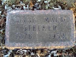 Anna Maud <i>Stewart</i> Stecker