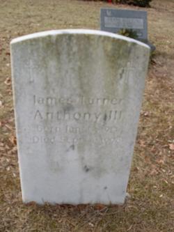James Turner Anthony, III