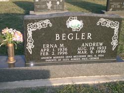 Erna M <i>Messerer</i> Begler