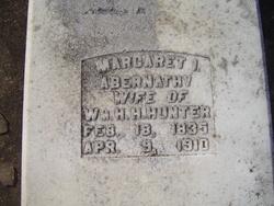 Margaret Isabelle <i>Abernathy</i> Hunter