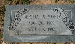 Bertha Almond