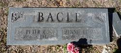 Jennie <i>Pitman</i> Bacle