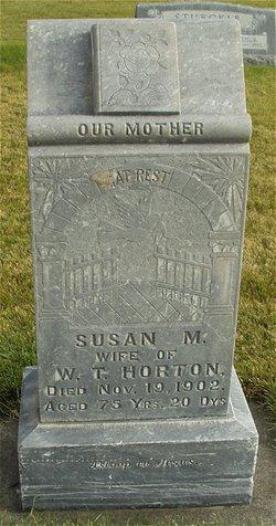Susan M. <i>Greer</i> Horton