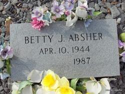 Betty J. <i>Sherrod</i> Absher