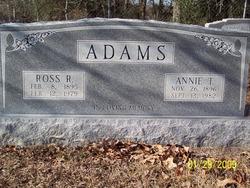 Annie <i>Taylor</i> Adams
