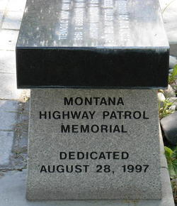 Montana Highway Patrol Memorial