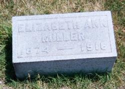 Elizabeth Anne <i>Morton</i> Miller