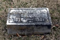 Elisabeth <i>Ward</i> Ballou