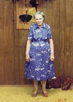 Eunice Amelia Mae <i>Kulow Matteson</i> Mitchell