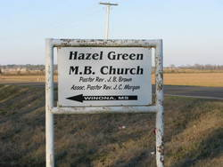 Hazel Green M. B. Church Cemetery