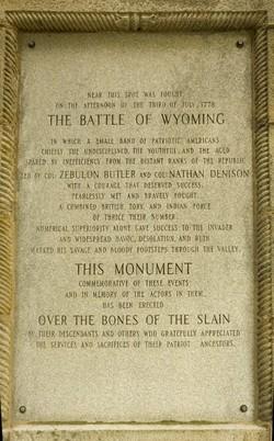 Wyoming Massacre Memorial