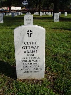 Clyde Ottway Adams