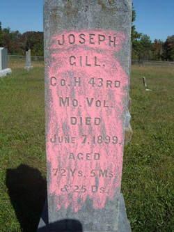 Pvt Joseph Gill