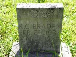 R C Braden