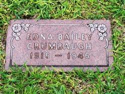 Mrs Edna Mae <i>Bailey</i> Crumbaugh