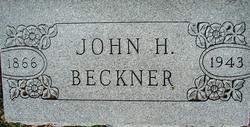 John H Beckner