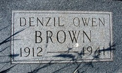 Denzil Owen Tiny Brown