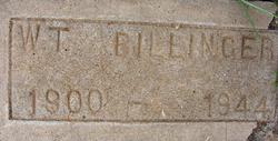 William T W T Billinger
