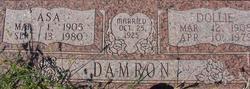 Gettie Elizabeth Dolly <i>Hampton</i> Damron