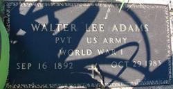 Walter Lee Adams