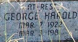 George Harold Brock