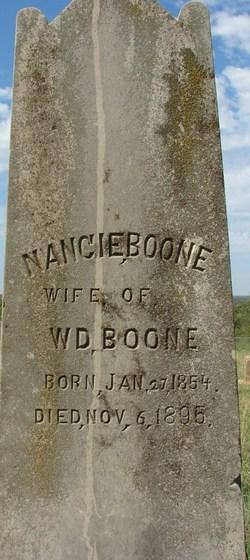 Nancie Caroline <i>Washburn</i> Boone
