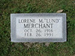 Lorene Marjorie Lorene <i>Lund</i> Merchant