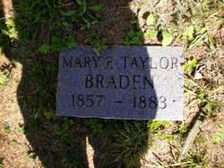 Mary E <i>Taylor</i> Braden