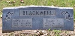 Kate T. <i>Schuder</i> Blackwell