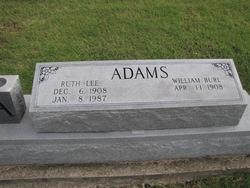 Ruth Lee <i>Stanfill</i> Adams