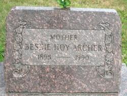 Bessie <i>Hoy</i> Archer