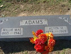 Willie Mae <i>Hughes</i> Adams