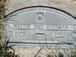 Arnetta Ann Nettie <i>Mayes</i> Morgan