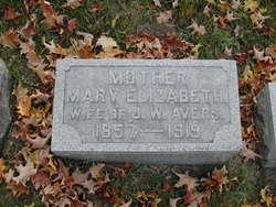 Mary Elizabeth <i>Hilgartner</i> Avers