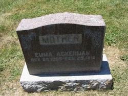 Emma <i>Immel</i> Ackerman