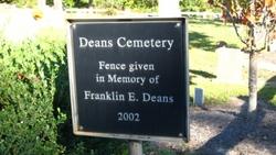 Deans Cemetery