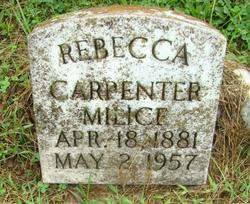 Rebecca Leonore <i>Carpenter</i> Milice
