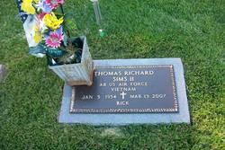 Thomas Richard Rick Sims, II