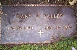 Mary K. Sadler