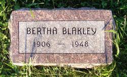 Bertha Blakley