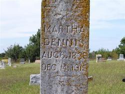 Martha <i>Jenkins</i> Dennis
